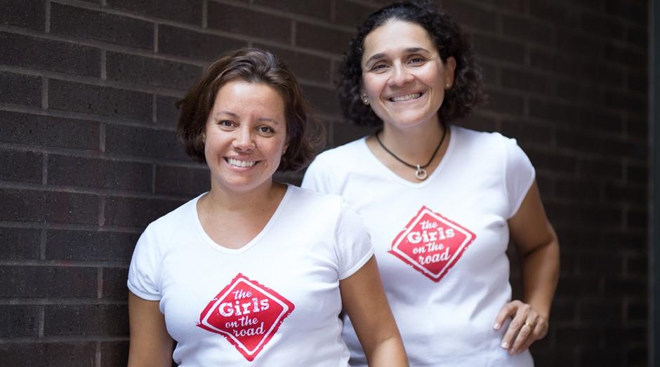 Fernanda Moura e Taciana Mello são caçadoras de inspiração e idealizadoras do projeto The Girls on the Road (Foto: Divulgação)