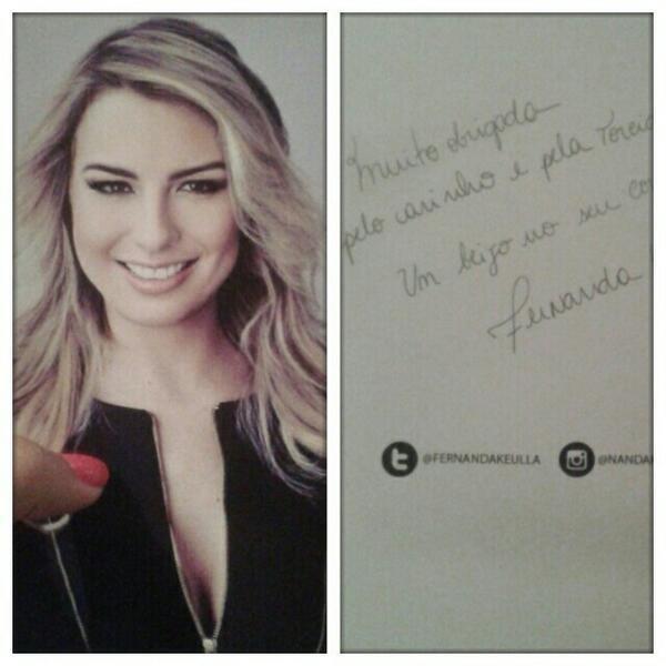 Fernanda Keulla (Foto: Twitter/ Reprodução)
