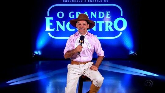 'Galpão Crioulo' apresenta terceira parte do programa gravado no O Grande Encontro