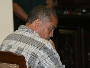 O ex-policial Sebastião Cardias foi condenado a 80 anos (Foto: Sidney Oliveira/Amazônia Hoje)