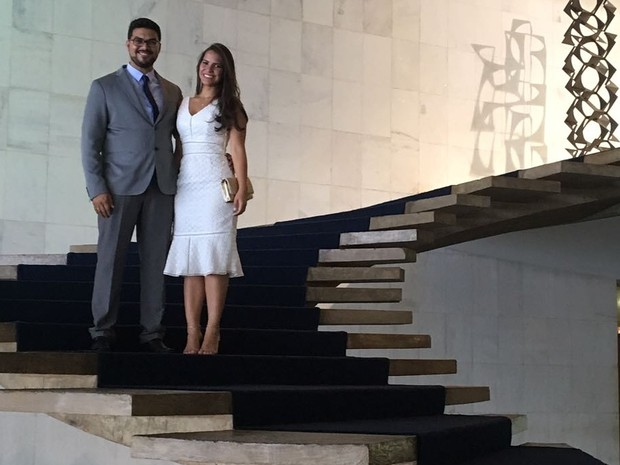 Jônathas conta que sua mulher, Ilana Rafaela, foi fundamental para o sucesso  (Foto: Reprodução/Facebook)