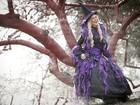 Andressa Urach se veste de bruxa: 'Os homens preferem as malvadas'