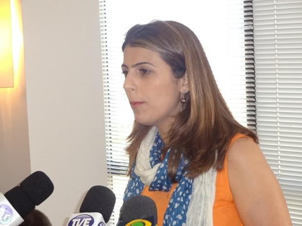 Manuela candidata prefeita Porto Alegre (Foto: Tomás Hammes / G1)