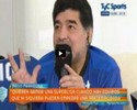 """Maradona provoca o Brasil e exalta Messi: """"É grande com ou sem a Copa"""""""