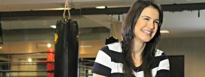 Longe do jiu-jítsu na gravidez, Kyra Gracie fez vários exercícios (Igor Christ/Eu Atleta)