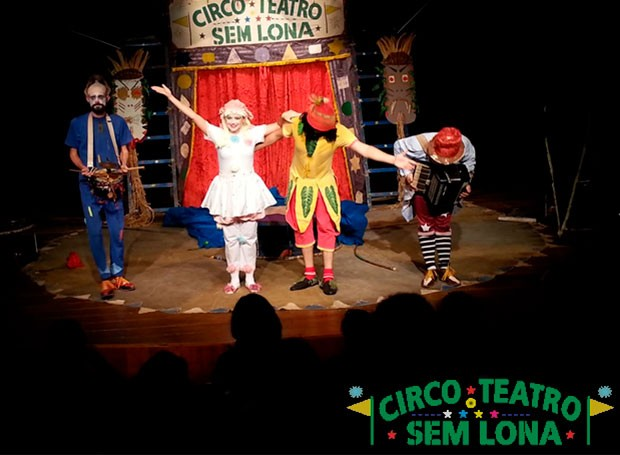 Venha se emocionar com os espetáculos do grupo Teatro Sem Lona (Foto: Divulgação/ RPC)
