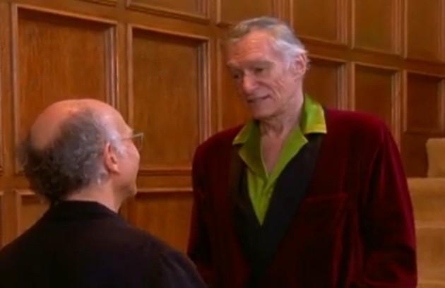 Em 2005, o empresário gravou a série 'Curb your enthusiasm', estrelada por Larry David (Foto: Reprodução)