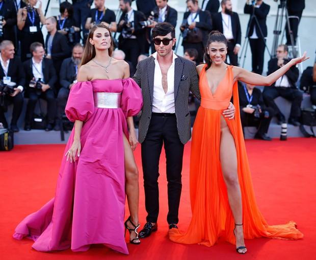 As modelos Dayane Mello e Giulia Salemi (Foto: Getty Images)