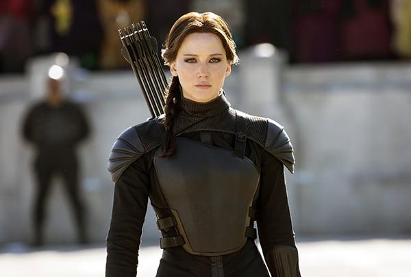Jennifer Lawrence em 'Jogos Vorazes: A Esperança - O Final' (2015) (Foto: Divulgação)