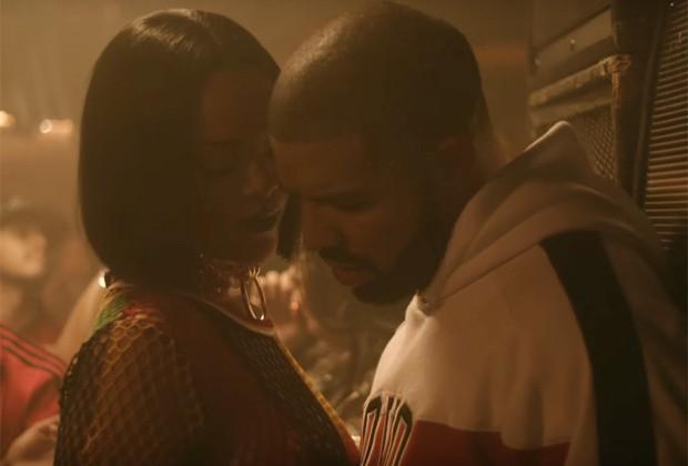 """Rihanna sensualiza com Drake em clipes do single """"Work"""""""