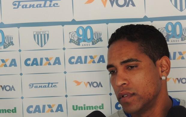 Cleber Santana Avaí (Foto: Diego Madruga)