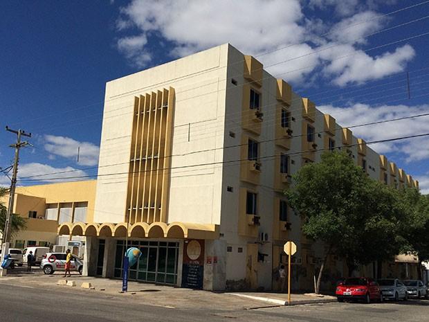 Casa de Saúde Dix-Sept Rosado, em Mossoró (Foto: Felipe Gibson/G1)
