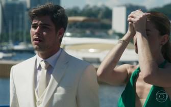 Léo e Yasmin se desesperam ao saber do sequestro da mãe