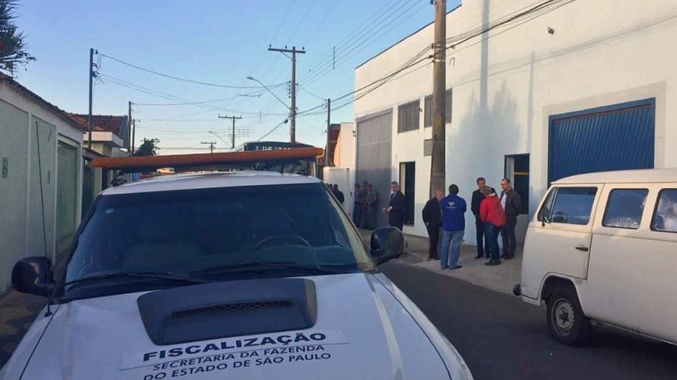 Seis pessoas são presas em operação do Gaeco (Foto: Lucas Calore/Jornal Cidade de Rio Claro)