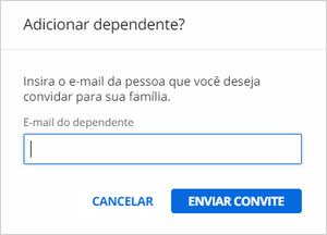 Convite para o dependente (Foto: Conta Globo )