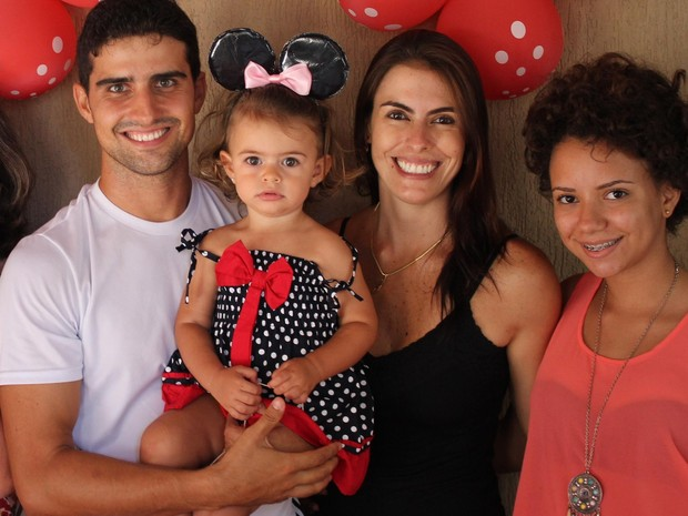 Família apoiou decisão e tem orgulho da força de vontade de Ludmila (Foto: Ludmila Lacorte/Arquivo pessoal)