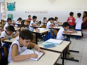 Alunos da rede pública estadual de ensino (Foto: Ascom/Seed)