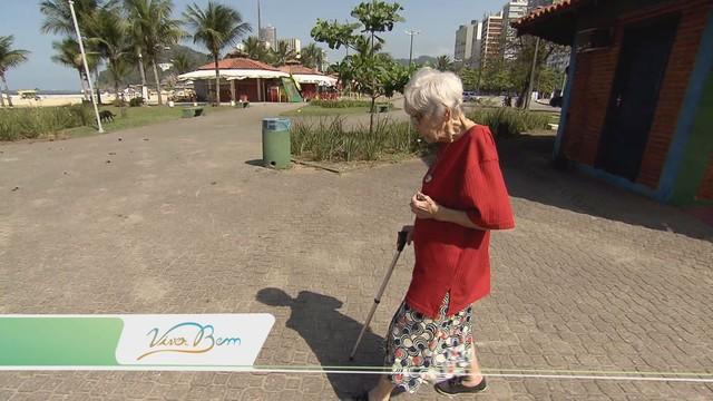 Dona Maria completa 100 anos de vida (Foto: Reprodução/TV Tribuna)