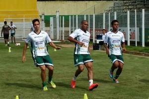 Luverdense, treinos (Foto: Assessoria/Luverdense Esporte Clube)
