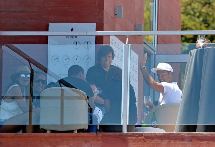 Cristiano Ronaldo na Ilha da Madeira (Foto: AFP)