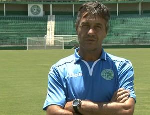 Renato Pé Murcho técnico sub-20 Guarani (Foto: Carlos Velardi / EPTV)
