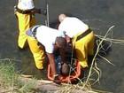 Homem suspeito de ter problema psiquiátrico é resgatado do rio Jundiaí