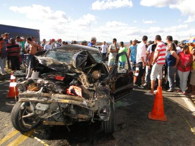 acidente deixa uma pessoa morta na bahia (Foto: Marcos Souza Frahm / Blog Marcos Frahm/Divulgação)