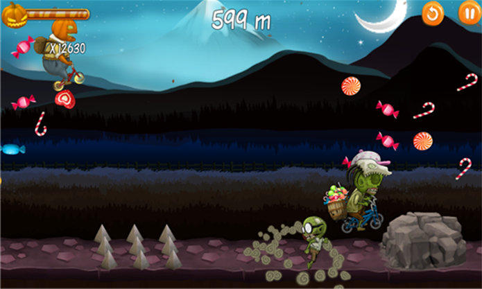 Cheasing Zombies é um divertido game de corrida e aventura para Windows Phone (Foto: Divulgação/Windows Phone Store)