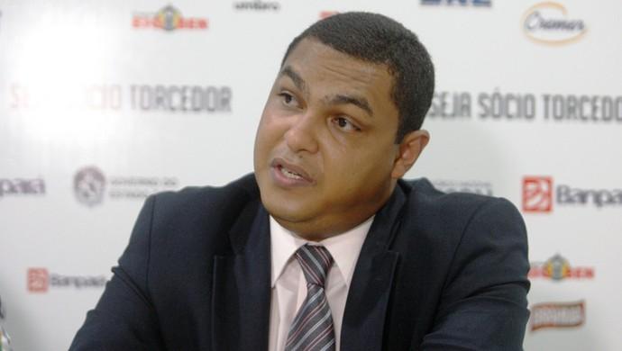 Marco Antônio Pina , o Magnata, vice presidente do Remo (Foto: Fábio Costa/O Liberal)
