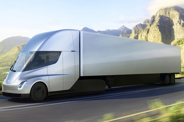 Tesla divulga os preços do seu caminhão elétrico Semi