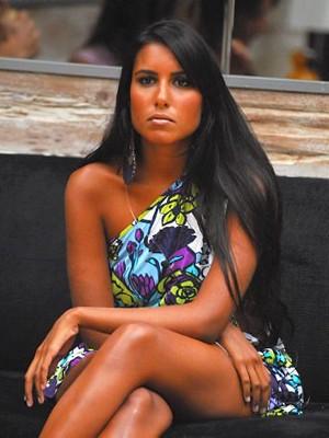 Carol Honório no BBB7 (Foto: Globo / Kiko Cabral)