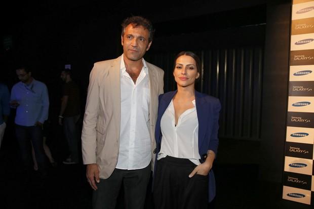 Domingos Montagner e Cleo Pires em evento no Rio (Foto: André Muzell e Felipe Panfili/ Ag. News)