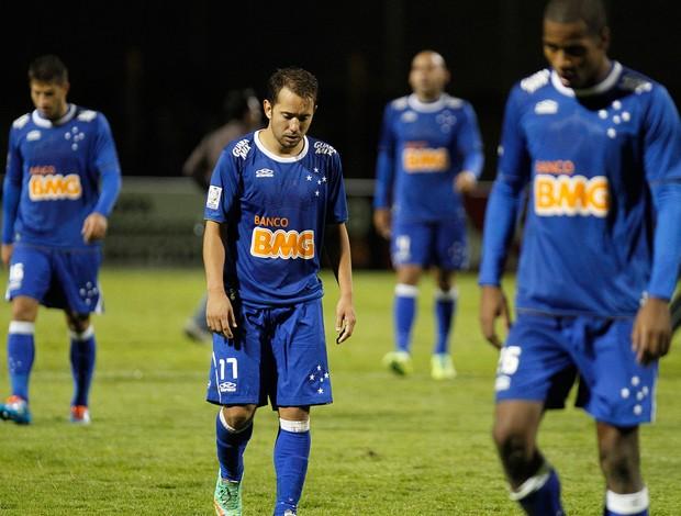 Everton Ribeiro, Real Garcilaso x Cruzeiro (Foto: AP)
