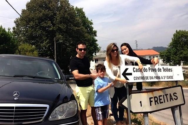 Kelly Key de férias na Europa (Foto: Arquivo Pessoal)