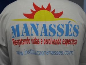 Instituição Manessés trata dependentes químicos há 15 anos no Brasil (Foto: Michelle Farias/G1)