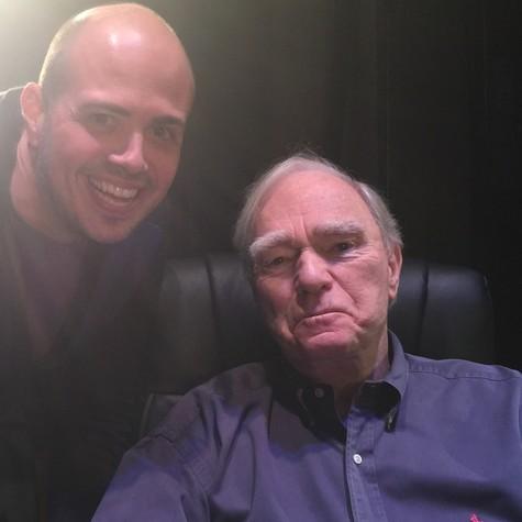 Gustavo Pinheiro e Robert Mckee (Foto: Arquivo pessoal)