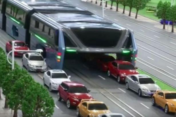 O veículo também está sendo conhecido como Hoverbus
