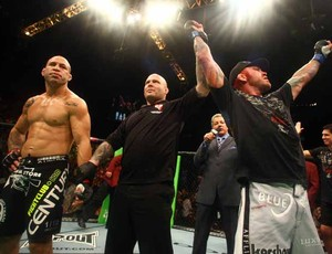 Wanderlei Silva é derrotado no UFC 132 (Foto: Divulgação/UFC)