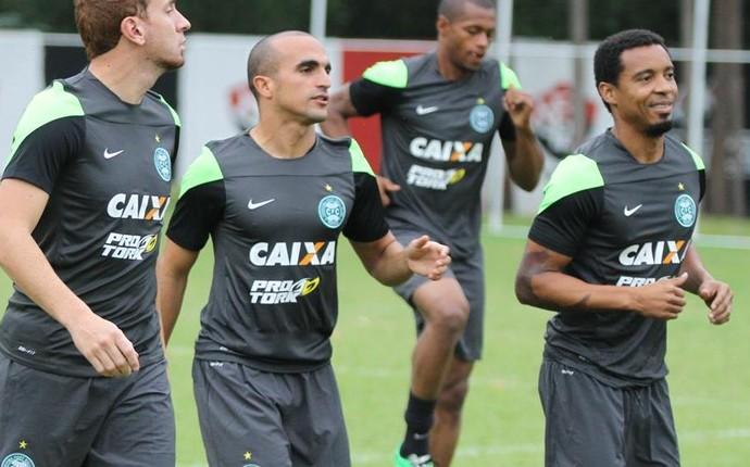 Coritiba treina no Barradãom, em Salvador (Foto: Divulgação/ Site oficial Coritiba)