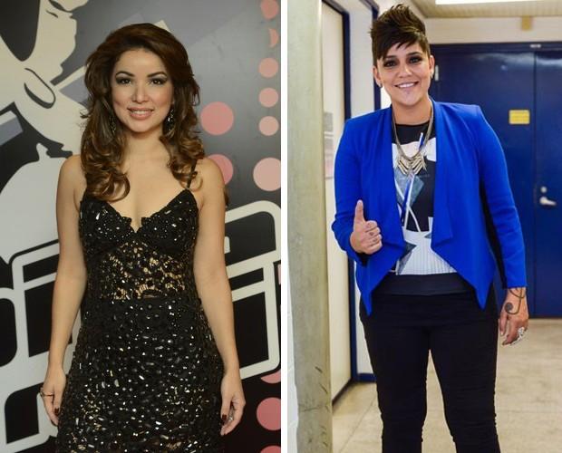 Liah e Nise (Foto: The Voice Brasil/Gshow)