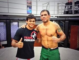 Tiago Trator e Rodrigo Minotauro MMA (Foto: Arquivo Pessoal)