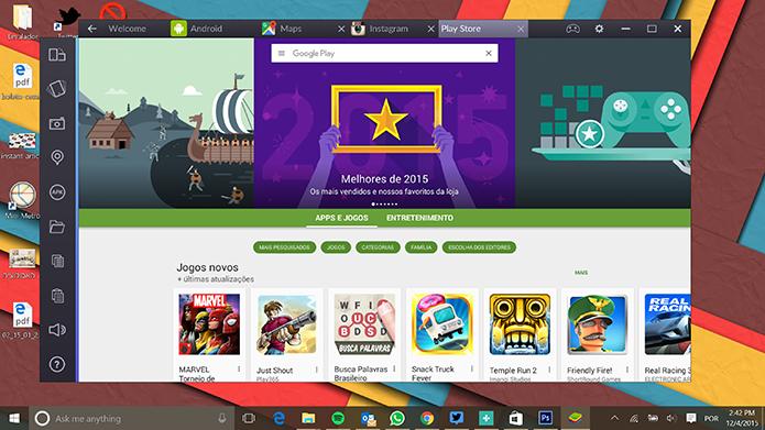 BlueStacks 2: nova versão roda mais de um app Android ao mesmo tempo