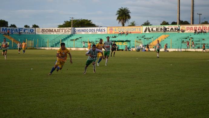 Interporto vence o Tocantinópolis no estádio Ribeirão (Foto: Dirceu Leno/TocNotícias)