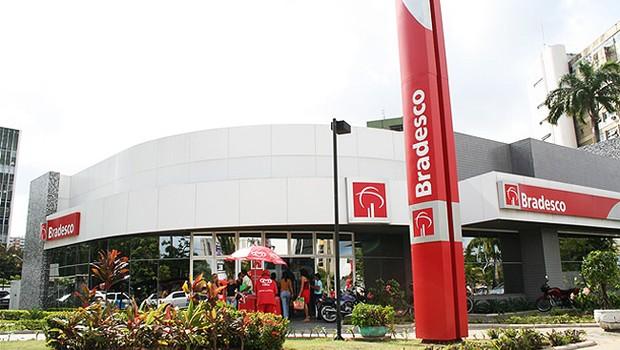 Agência do Bradesco (Foto: Divulgação)