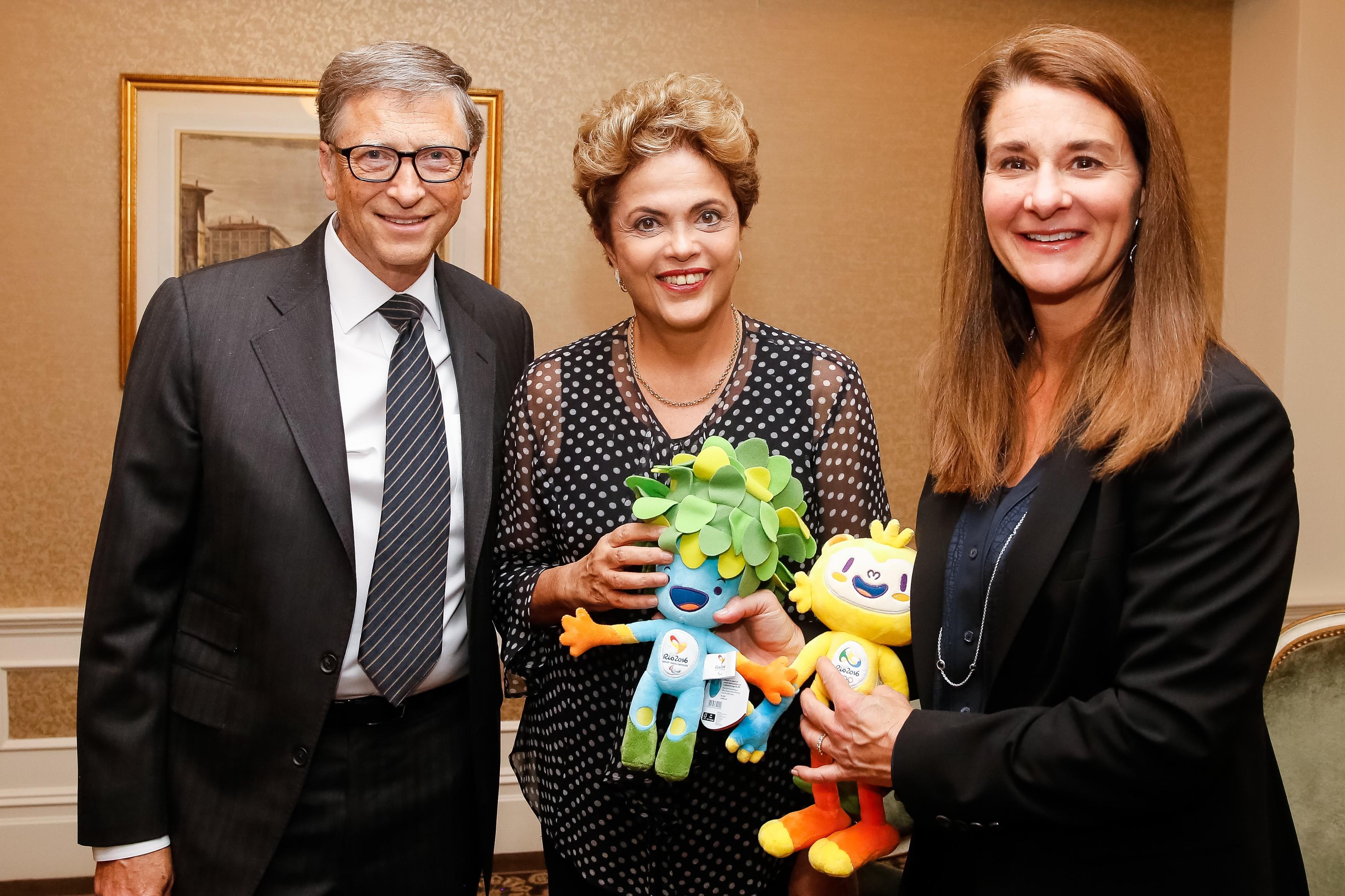 Bill Gates encontra Dilma e diz que processo contra Petrobras foi 'mal  entendido' - Época Negócios