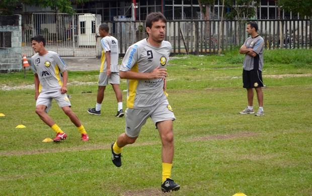 O atacante Renato Santiago, do Clube Atlético Joseense (Foto: Danilo Sardinha/Globoesporte.com)