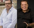 João Emanuel Carneiro e Dennis Carvalho | TV Globo