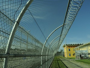Presídio de Xuri: equipamentos serão usados para aumentar a segurança (Foto: Carlos Alberto Silva/ A Gazeta)