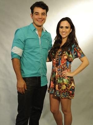 Junto de Tatá Werneck, os dois vão protagonizar cenas muito engraçadas (Foto: Divulgação / TV Globo)