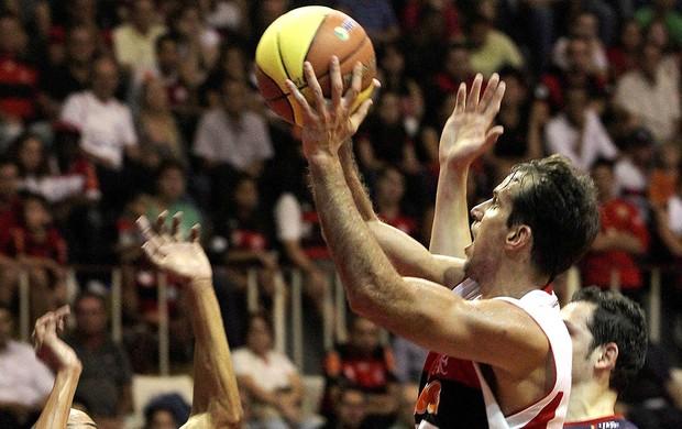 Marcelinho, Flamengo x Uberlandia, Basquete (Foto: Cezar Loureiro / O Globo)